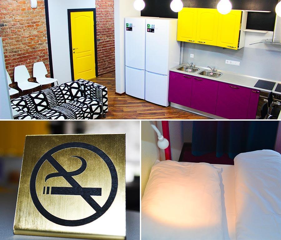 В нашем хостеле вы всегда можете недорого остановиться и насладиться его уютом и удобствами: бесплатным WI-FI, чистым и свежим постельным бельем, а также современной и функциональной мебелью.